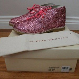 Sophia Webster 'Delilah Desert Glitter' Boot Ankle